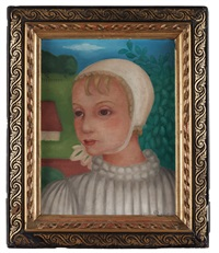 porträtt av ung flicka by hélène marie marguerite perdriat