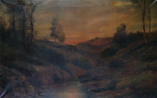 california landscape by j. h. murdoch