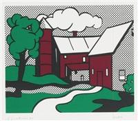 red barn by roy lichtenstein