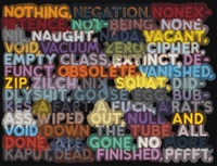 nothing by mel bochner