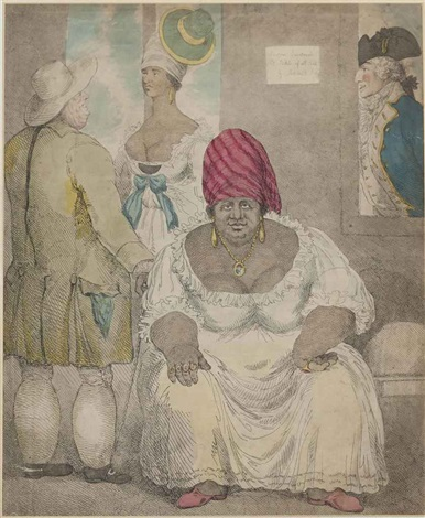 rachel pringle of barbados by thomas rowlandson