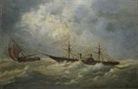 zeegezicht by nicolaas van baarle