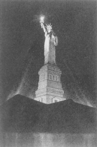 the statue of liberty by ellison hoover