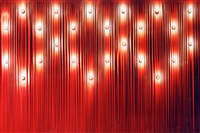 red with black and bulbs by ola kolehmainen