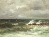 crashing waves by frank knox morton rehn