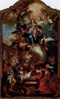 himmelfahrt mariens by johann anwander