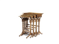 nesting tables (set of 4) by émile gallé