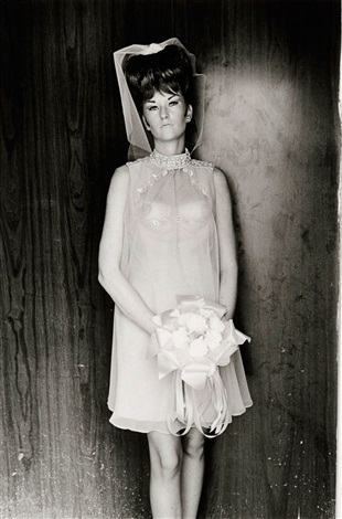 topless bridesmaid los angeles california by lee friedlander