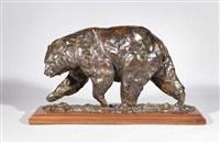 roaming black bear by kenneth rodney bunn