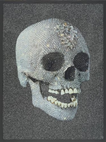 for the love of god laugh by damien hirst