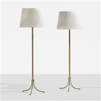 floor lamps model 2326, pair by josef frank