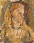 portrait of debe curtis (nee scott) by robert nettleton field