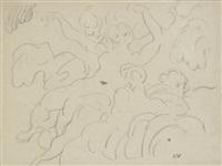 femmes dans les nuages by louis valtat