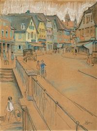 figures in the city by wilhelm wachtel