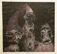 three masks by jiri anderle
