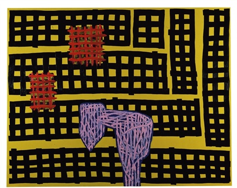 reasonable painting by jonathan lasker