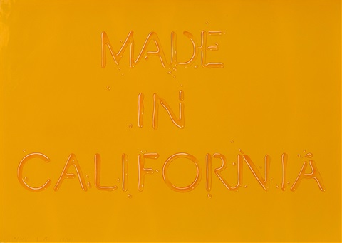 made in california by ed ruscha
