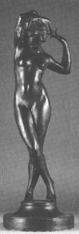 a standing female nude by robert ingersoll aitken