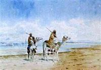 arab warriors by adelchi de grossi