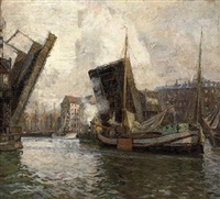 the port of copenhagen by carl forup