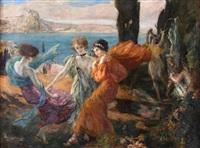 danse à l'antique by clovis cazes