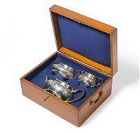 tea set (set of 3) by atkin brothers