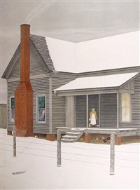 the home my daddy built (from the portfolio: america: the third century) by velox ward