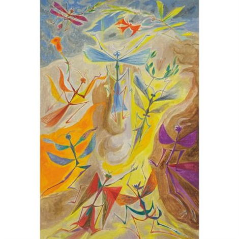 léphémère by andré masson