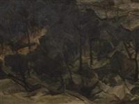 paysage by leon jean-baptiste sabatier