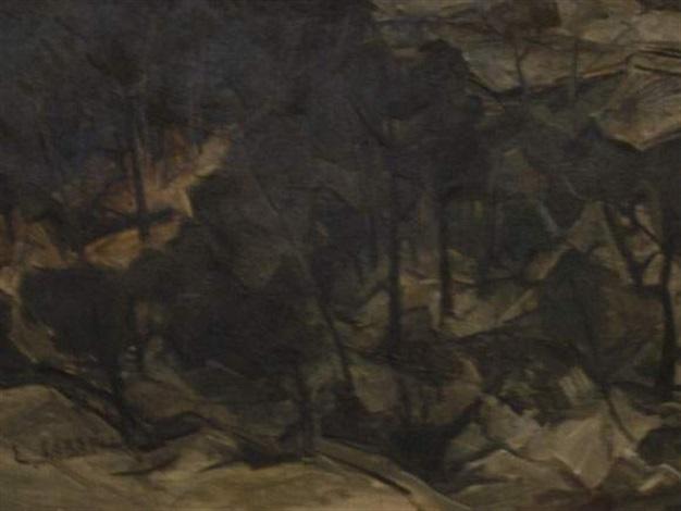 paysage by leon jean baptiste sabatier