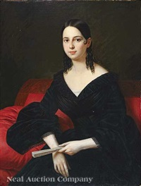 portrait of madame emma schriener mortimer by jacques guillaume lucien amans