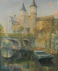 château au bord de l'eau by piet lippens