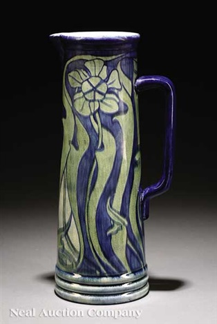 pitcher by newcomb college pottery