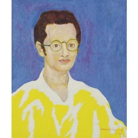 portrait of john koenig by beauford delaney