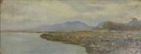 paysage lacustre by auguste bachelin