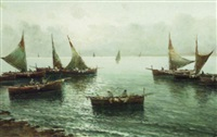 the return of the fishing fleet by vincenzo d' auria