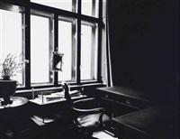 untitled (freud's desk by window, 1938) by robert longo