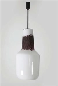 lampada a sospensione by massimo vignelli