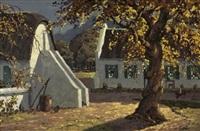 golden oaks, simonsberg, cape by nils severin andersen