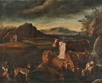 pastoral view by sinibaldo scorza