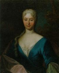 porträt von joh. dorothea von büren by johann franz aufdermaur