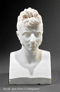portrait bust of don camillo borghese, prince of sulmona and duke of guastalla by lorenzo bartolini