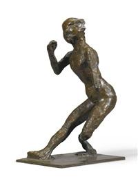 danseuse faisant la révérance by edgar degas