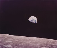 earthrise, apollo 8, december 1968 by william anders