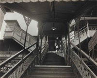 third avenue el, 23rd street station by arnold eagle
