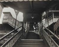 third avenue el, 23rd street station by arnold eagle