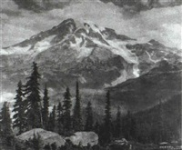 mt. rainer by asahel curtis