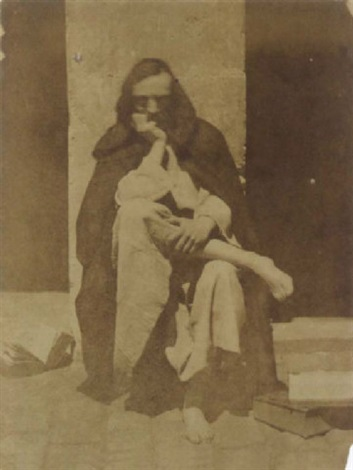 charles nègre habillé en moine by henri le secq and charles nègre