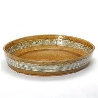 oval dish by gertrud vasegaard