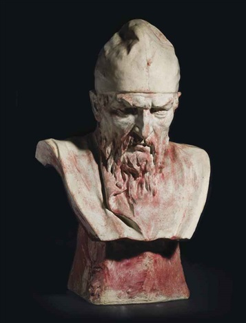 bust of ivan the terrible by mark matveevich antokolsky